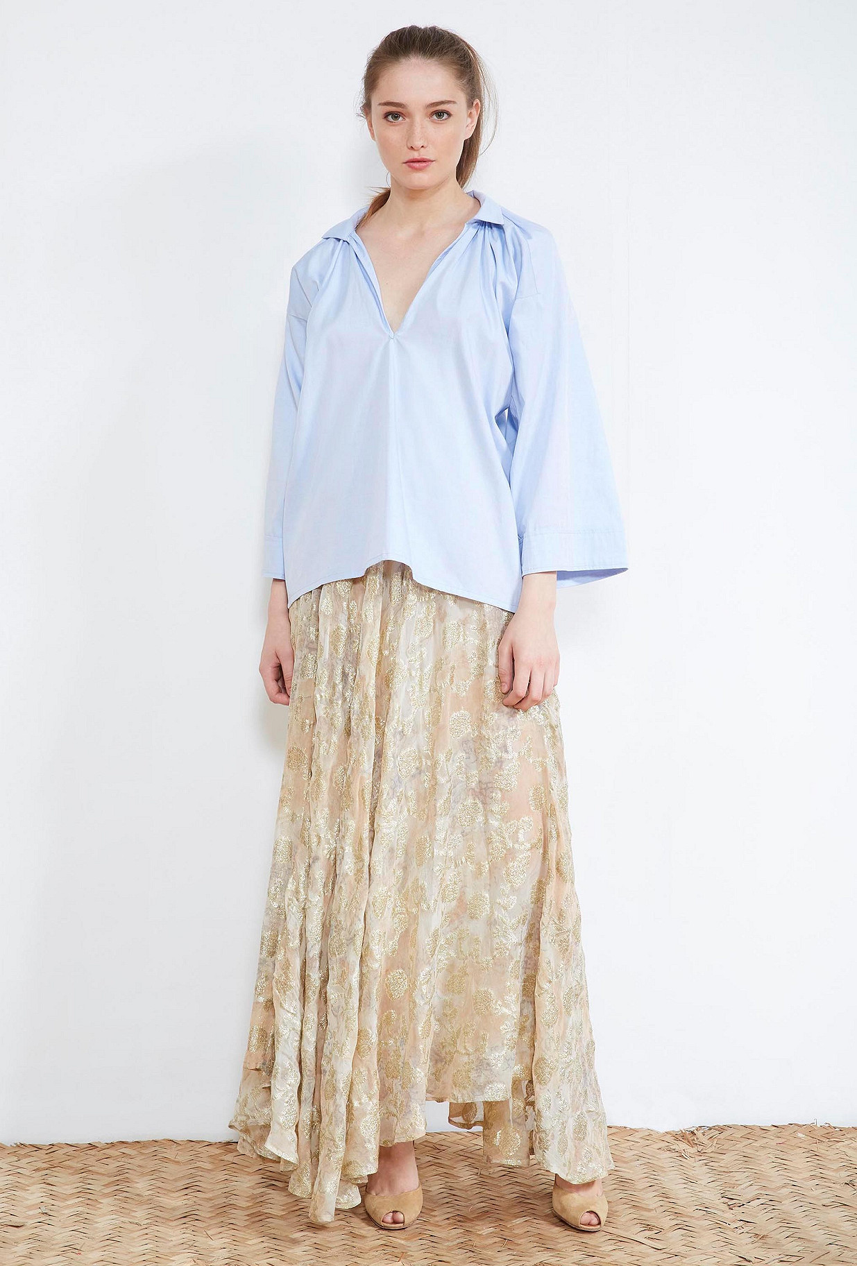 clothes store BLOUSE  Moss french designer fashion Paris