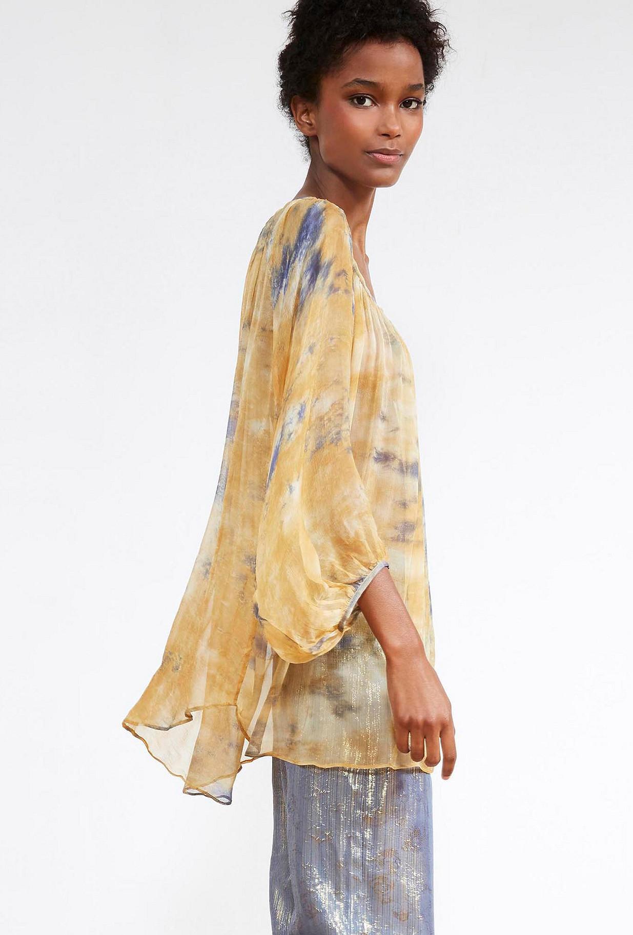 Sky blue  BLOUSE  Azur Mes demoiselles fashion clothes designer Paris