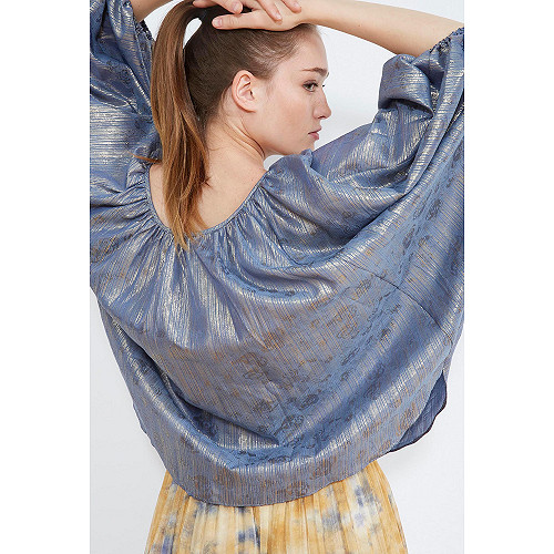 PONCHO Corfou Mes Demoiselles color Blue ocean