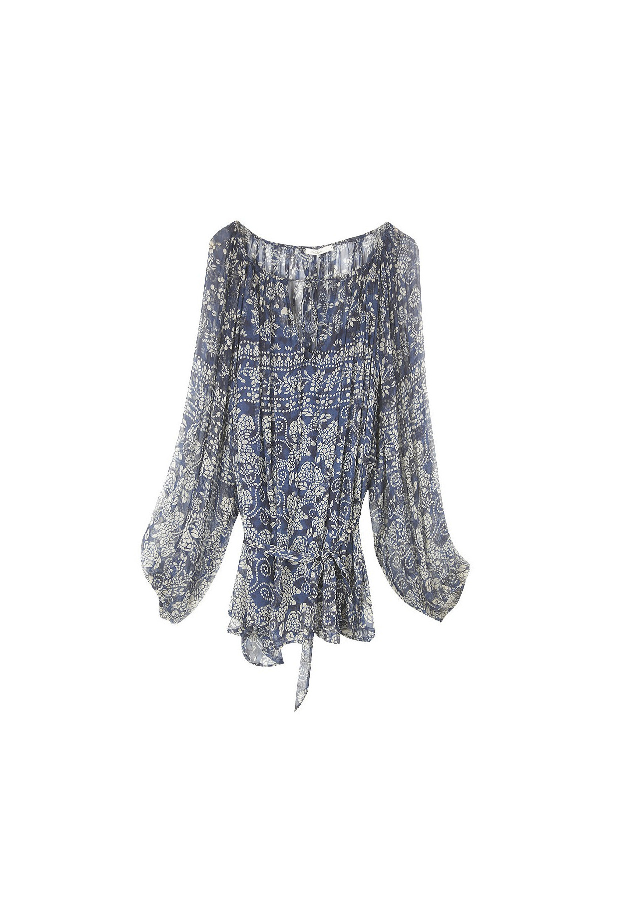 Blue  BLOUSE  Bogor Mes demoiselles fashion clothes designer Paris