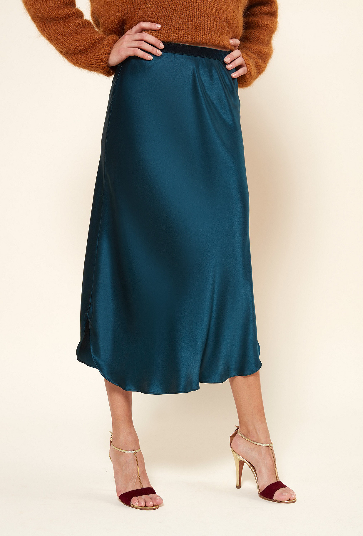 Sapphire Skirt Allegorie Mes Demoiselles Paris