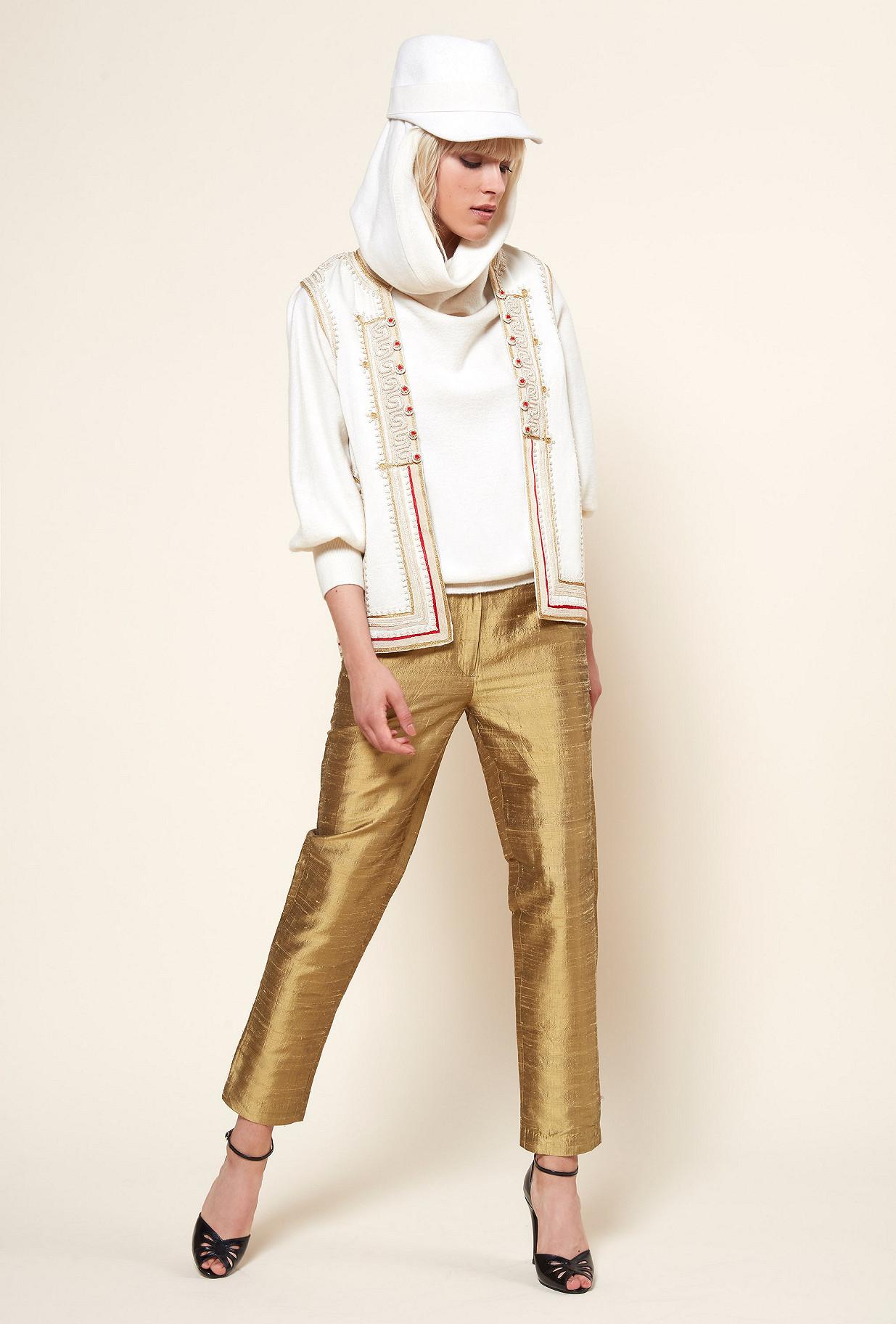 Ecru  JACKET  Anastasia Mes demoiselles fashion clothes designer Paris