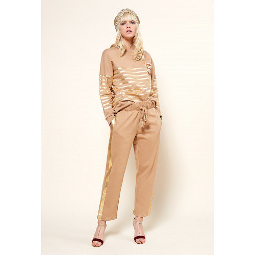 Camel  PANT  Carl Mes demoiselles fashion clothes designer Paris
