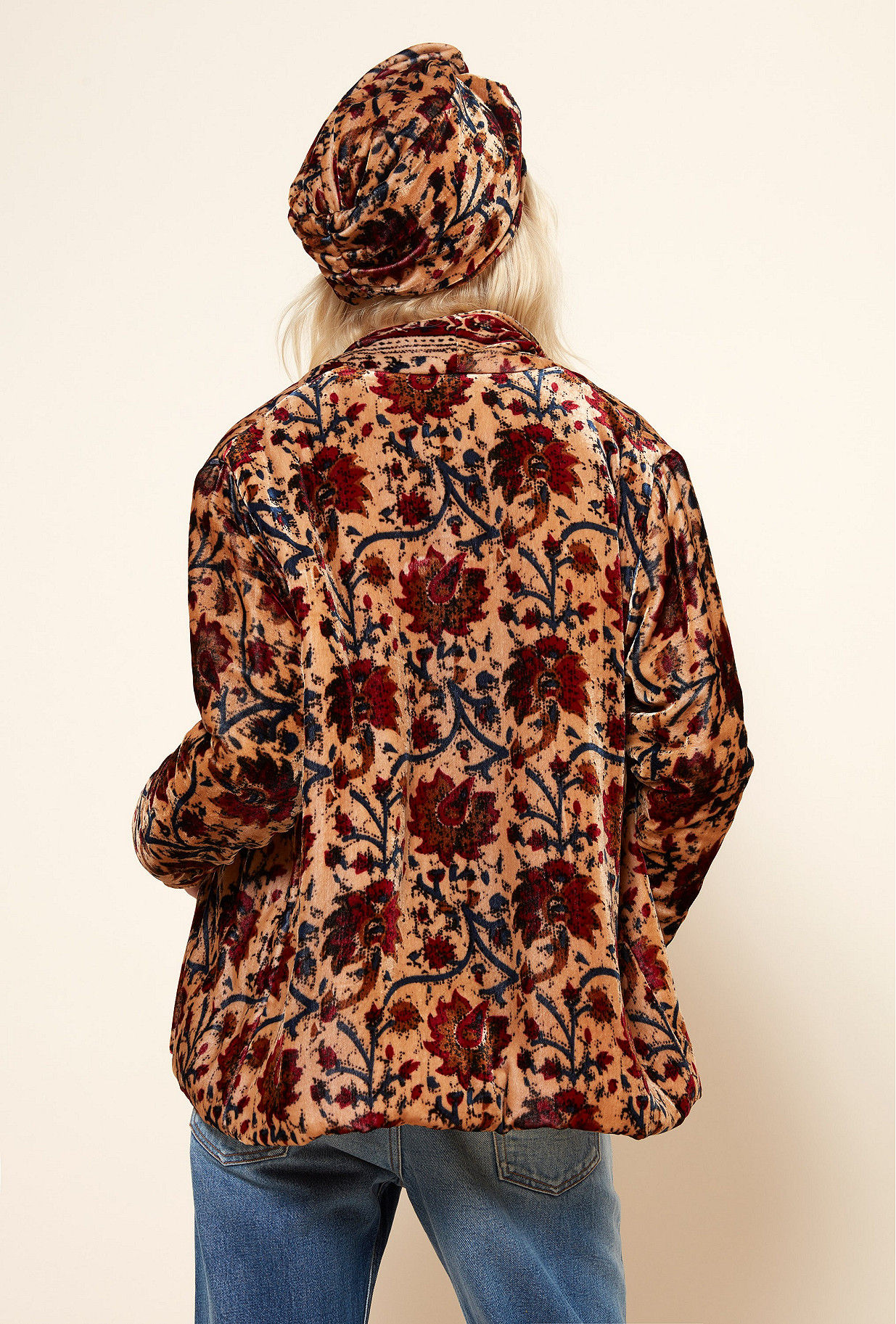 Floral print  JACKET  Charles Mes demoiselles fashion clothes designer Paris