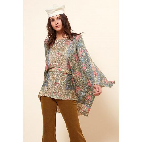 Sweater Eclaircie Mes Demoiselles color Floral print