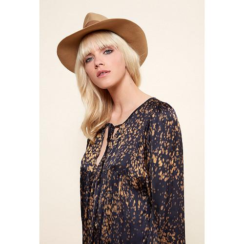 Black  Blouse  Gallieni Mes demoiselles fashion clothes designer Paris