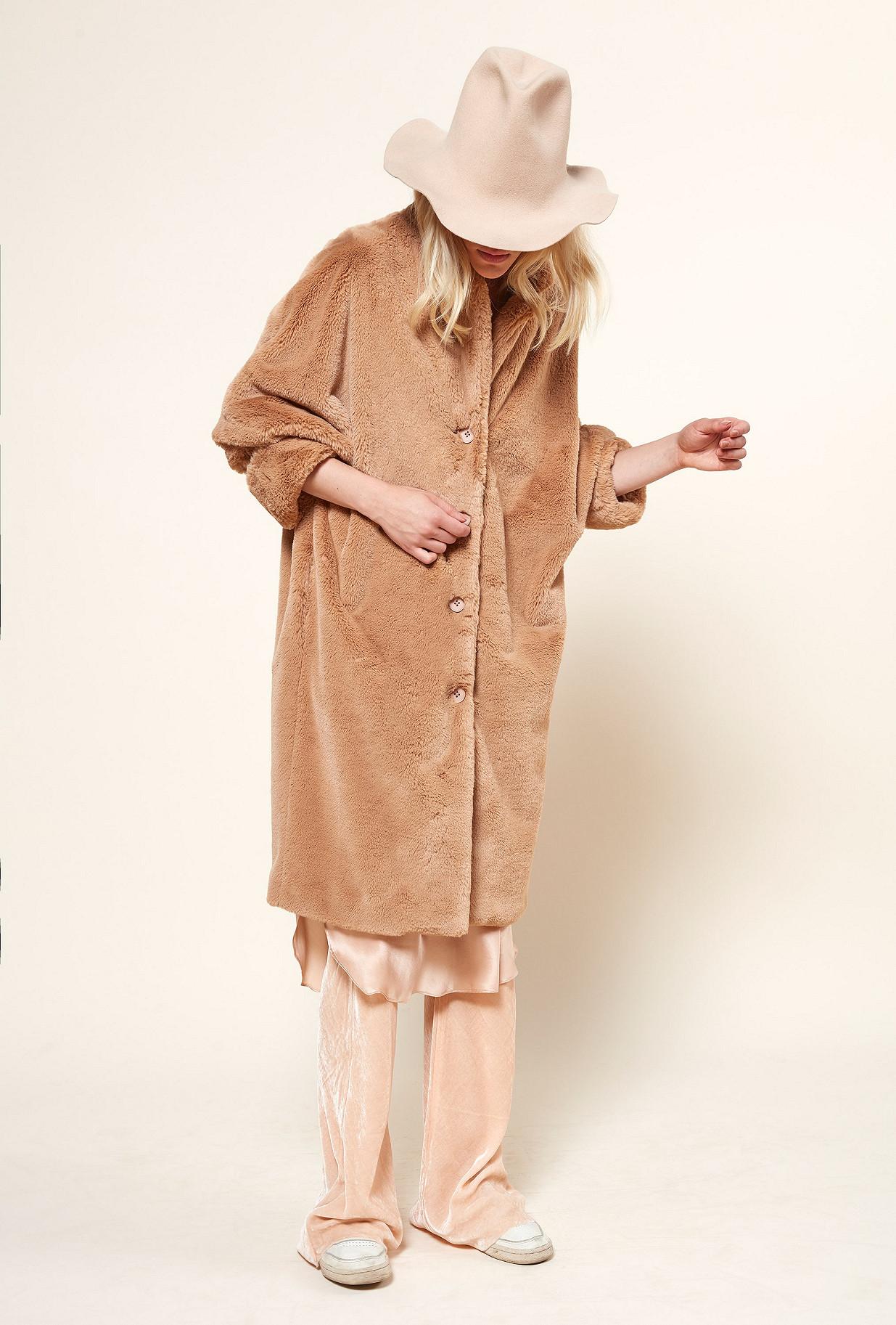 MANTEAU Camel  Gazette mes demoiselles paris vêtement femme paris