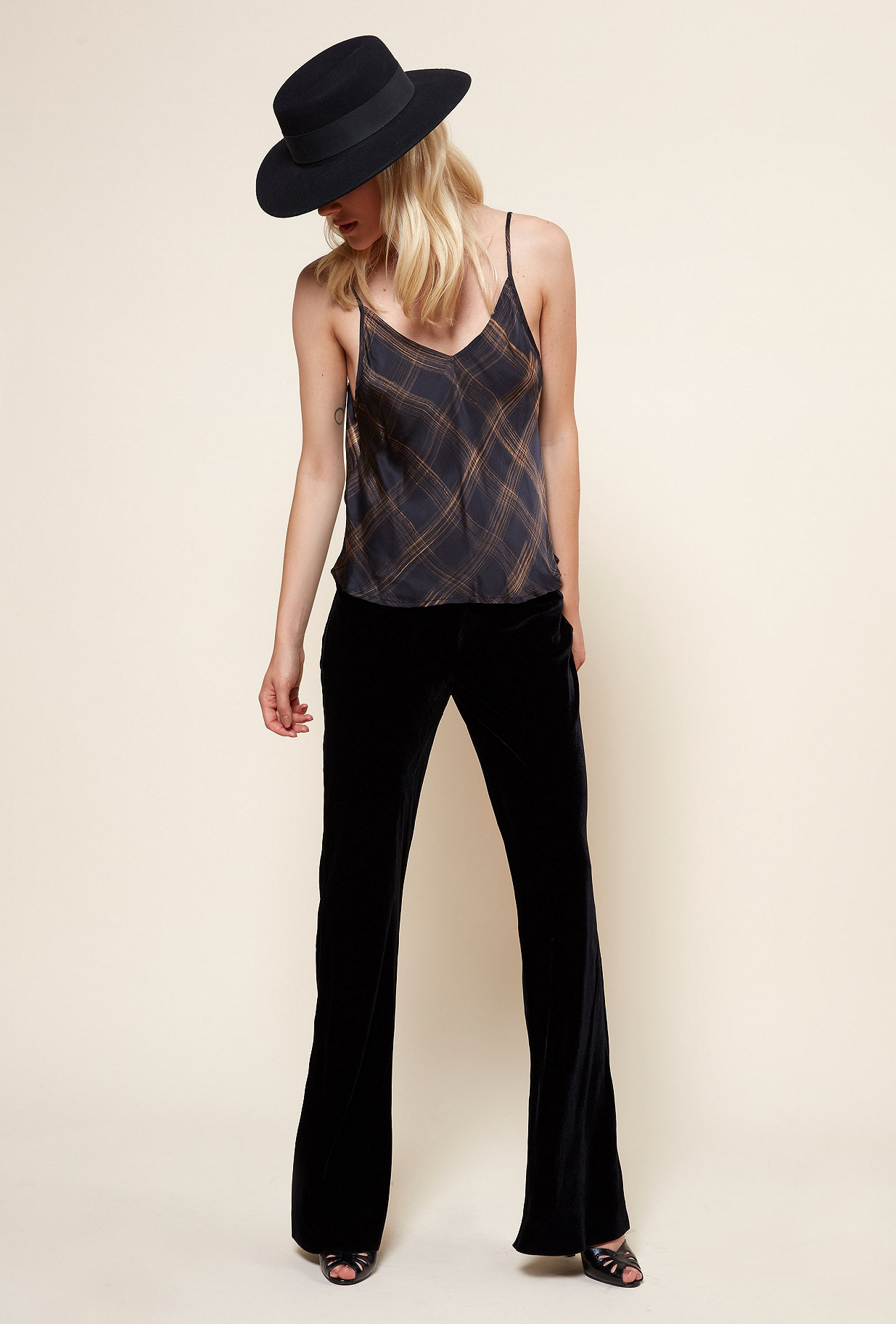 Black  TOP  George Mes demoiselles fashion clothes designer Paris