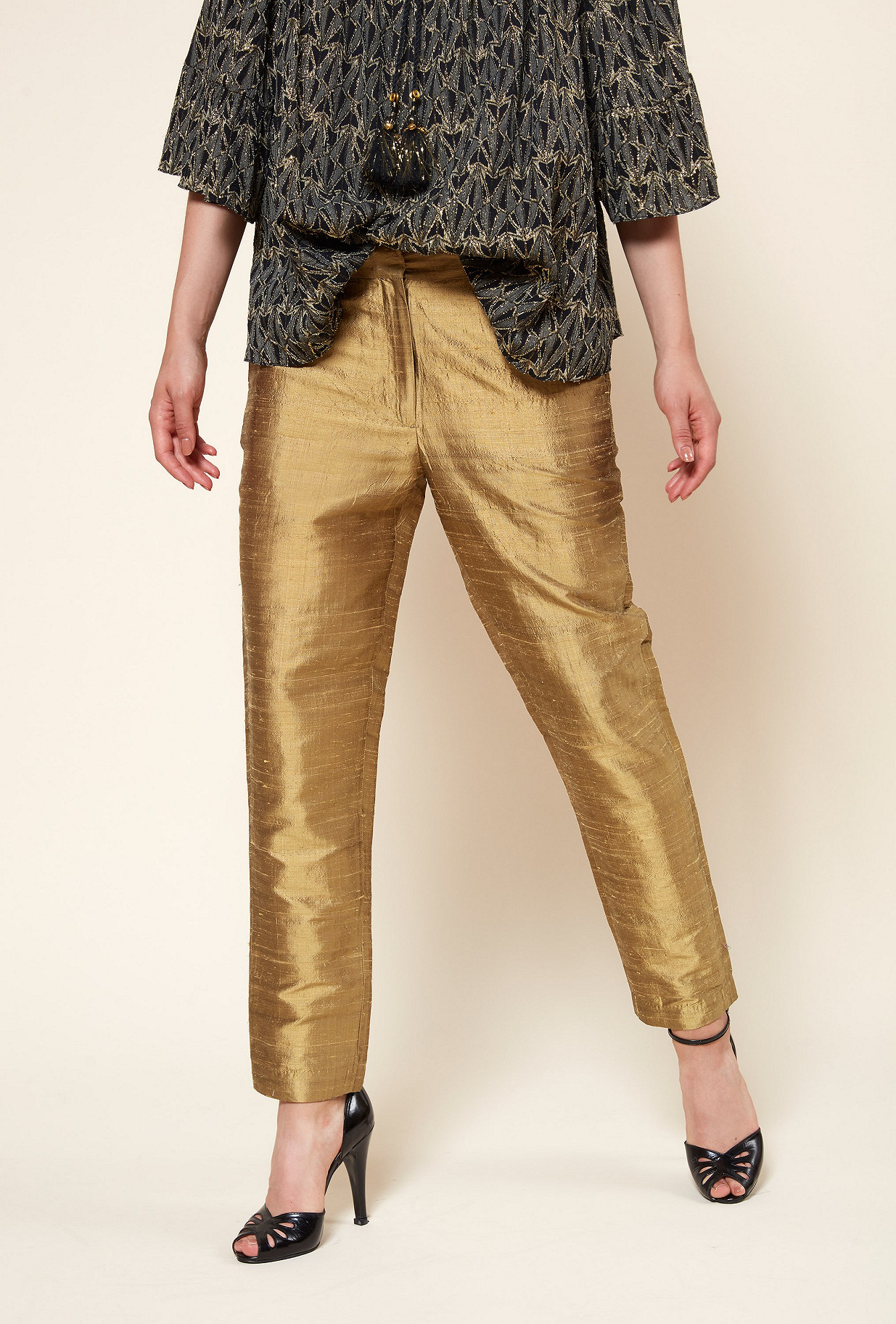 PANTALON Or  Goldie mes demoiselles paris vêtement femme paris