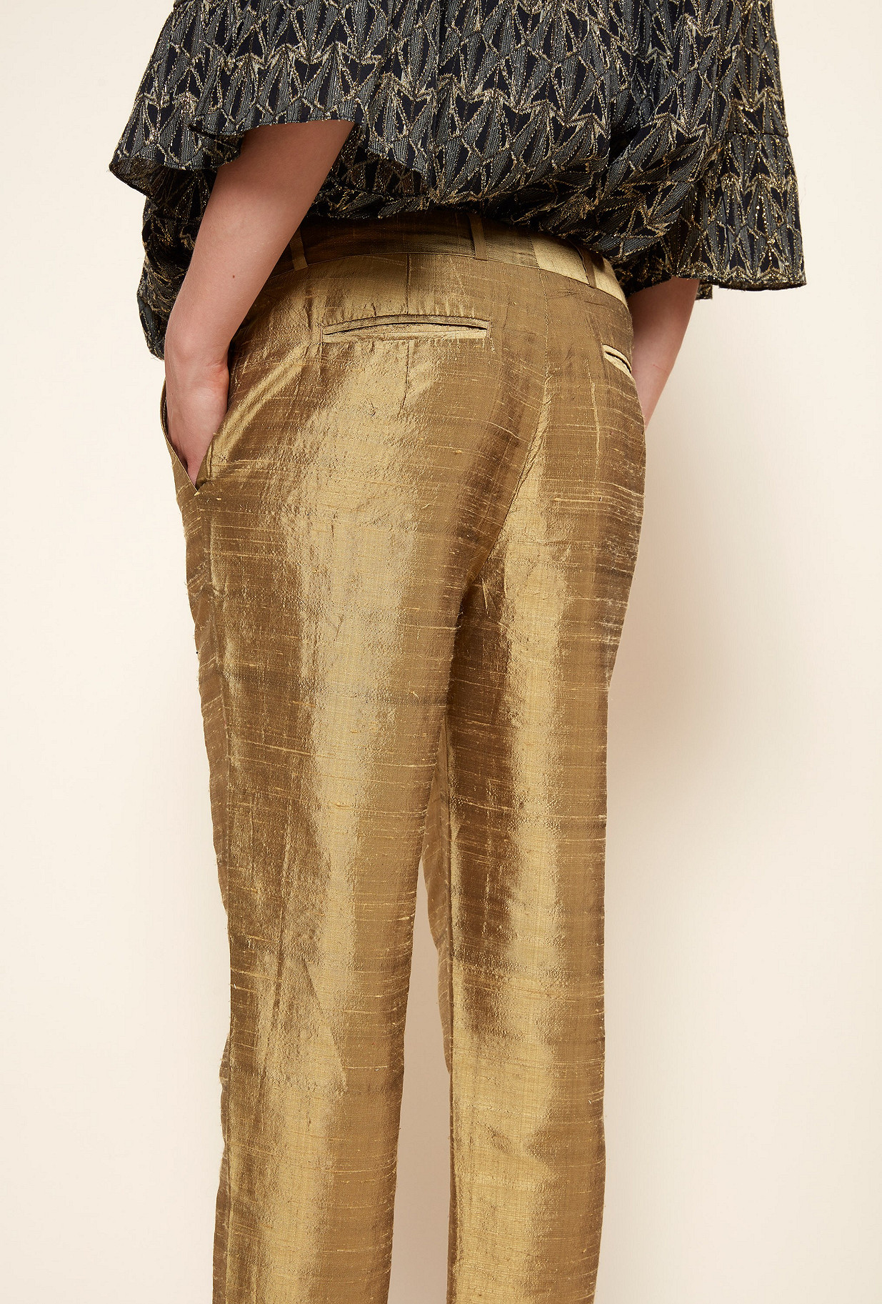 Gold PANT Goldie Mes Demoiselles Paris