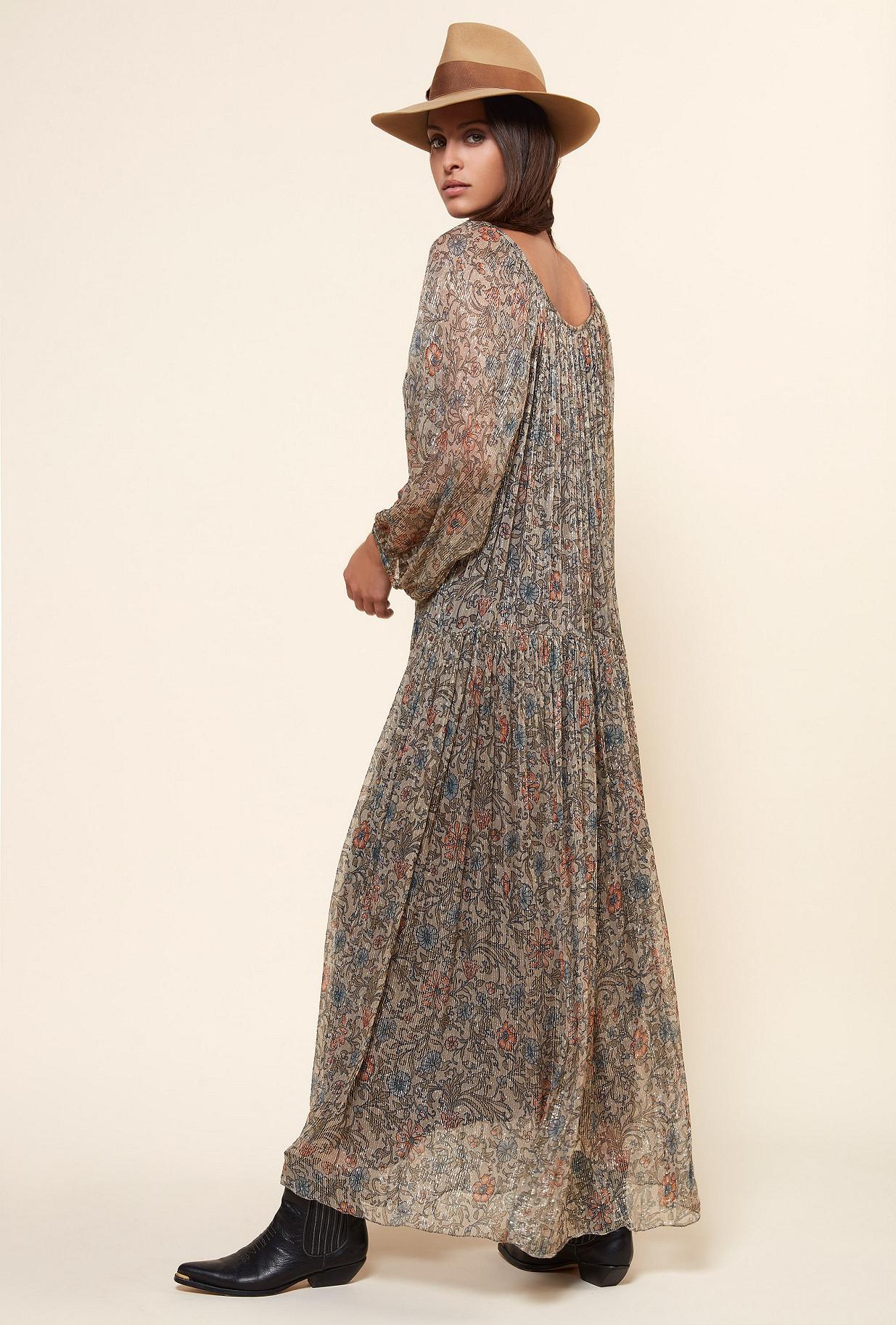 Floral print  Dress  Greta Mes demoiselles fashion clothes designer Paris
