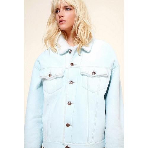 Ice blue  JACKET  Lady Lad Mes demoiselles fashion clothes designer Paris