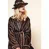 Paris boutique de mode vêtement MANTEAU créateur bohème  Maroon