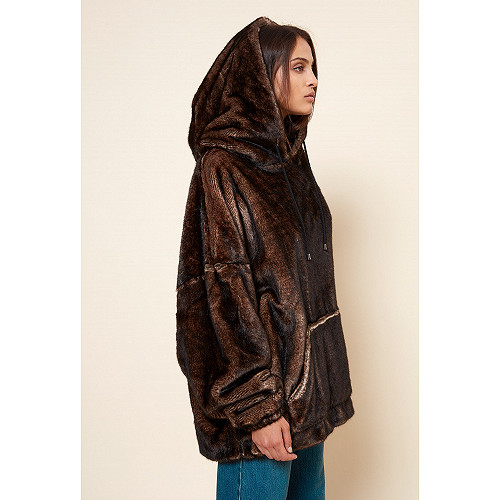 Brown COAT Massilia