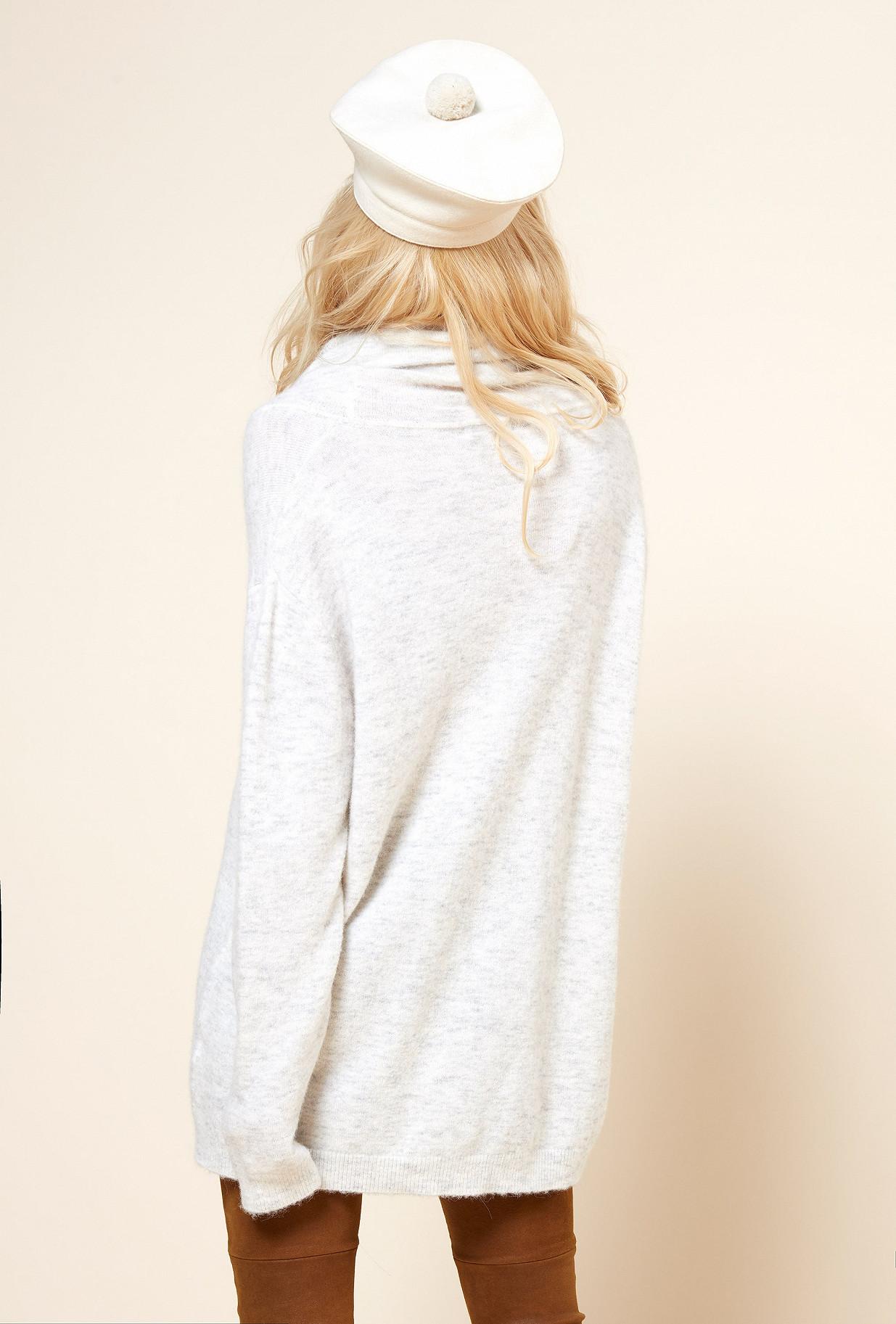 Grey  Knit  Mineral Mes demoiselles fashion clothes designer Paris