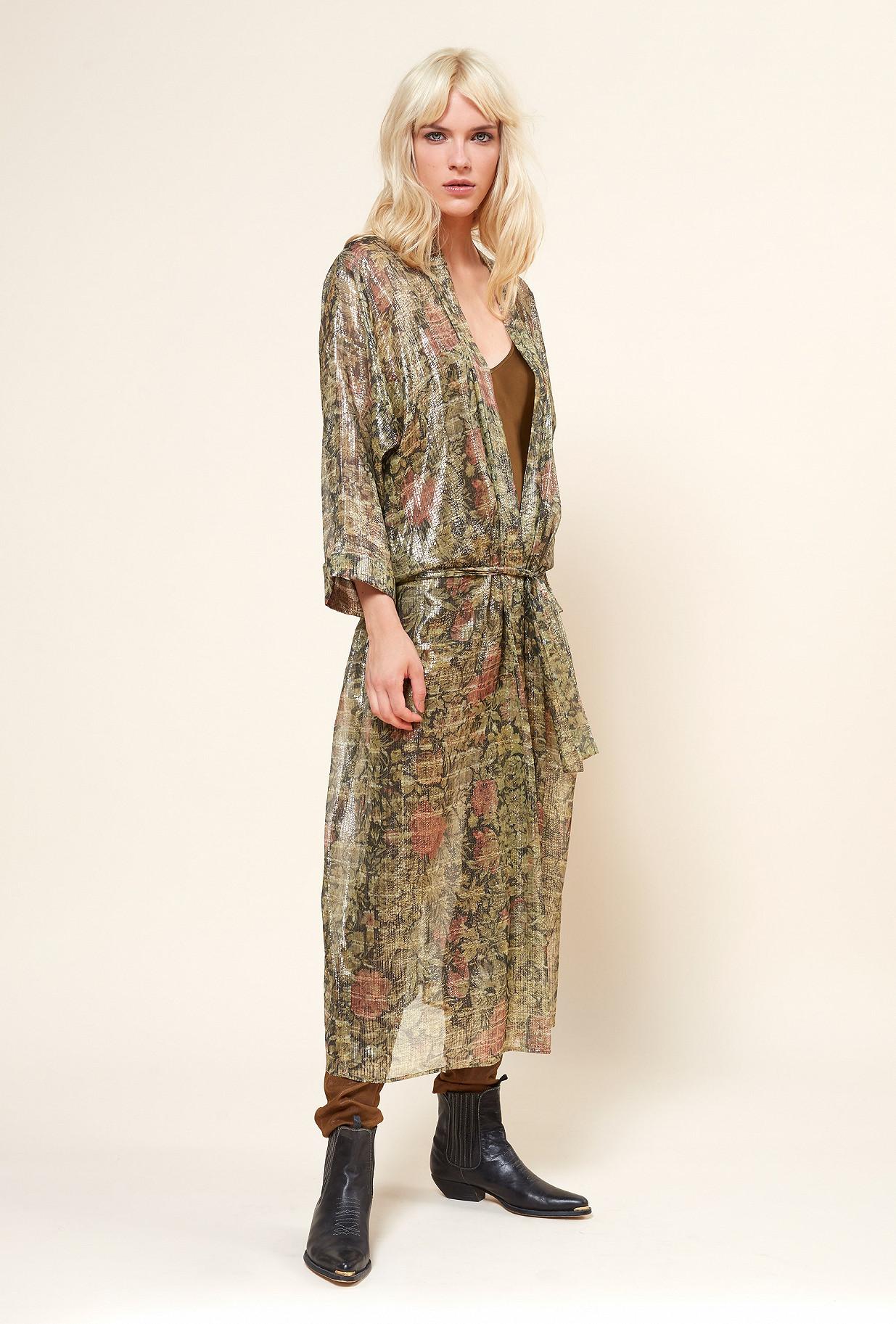 Paris boutique de mode vêtement KIMONO créateur bohème  Paissance
