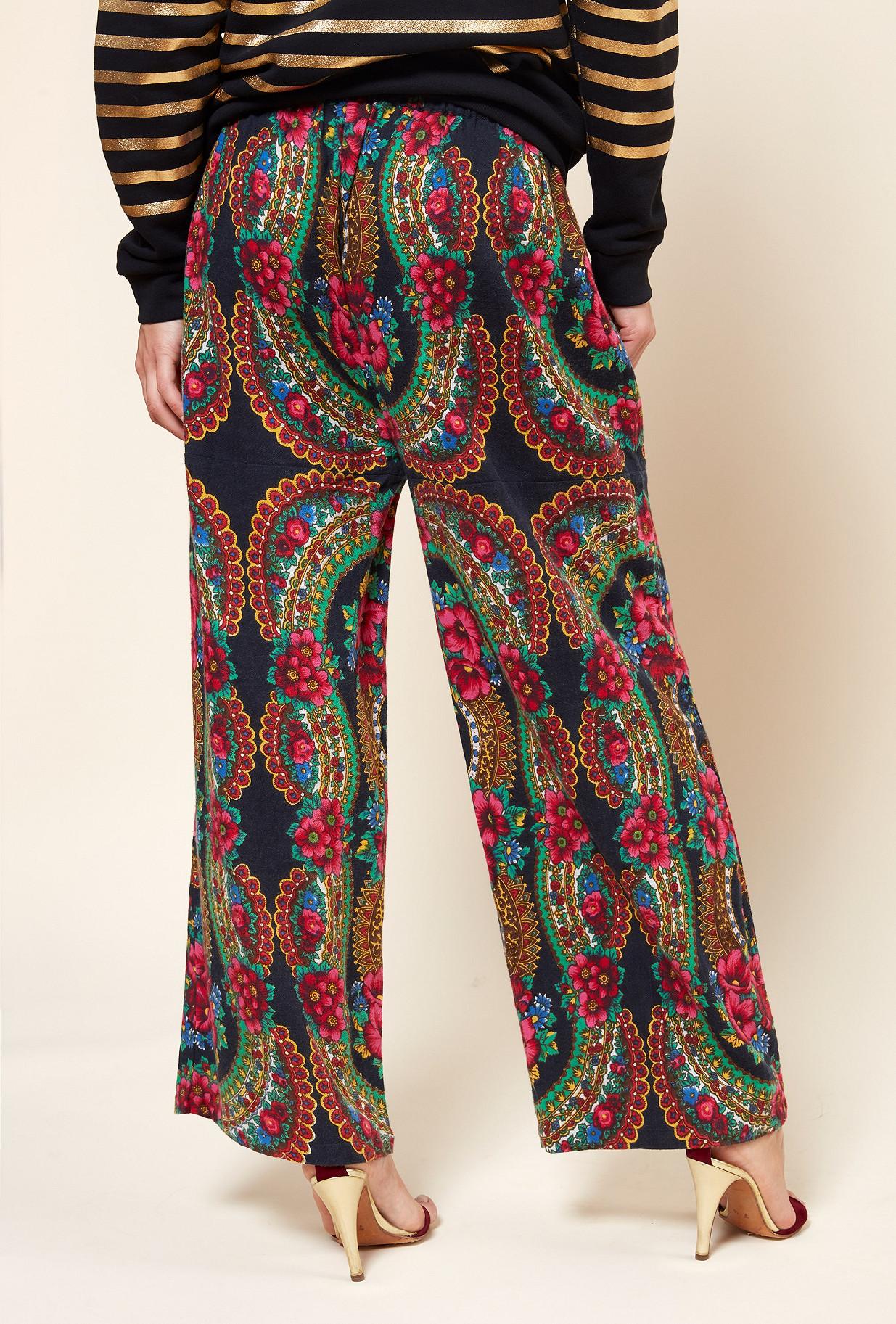 Paris boutique de mode vêtement PANTALON créateur bohème  Pavoloski