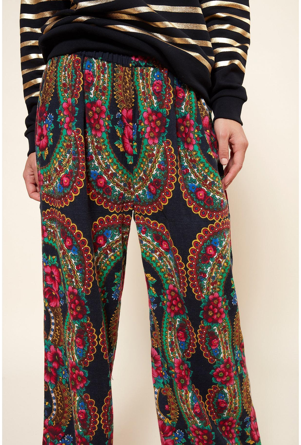 Black  PANT  Pavoloski Mes demoiselles fashion clothes designer Paris