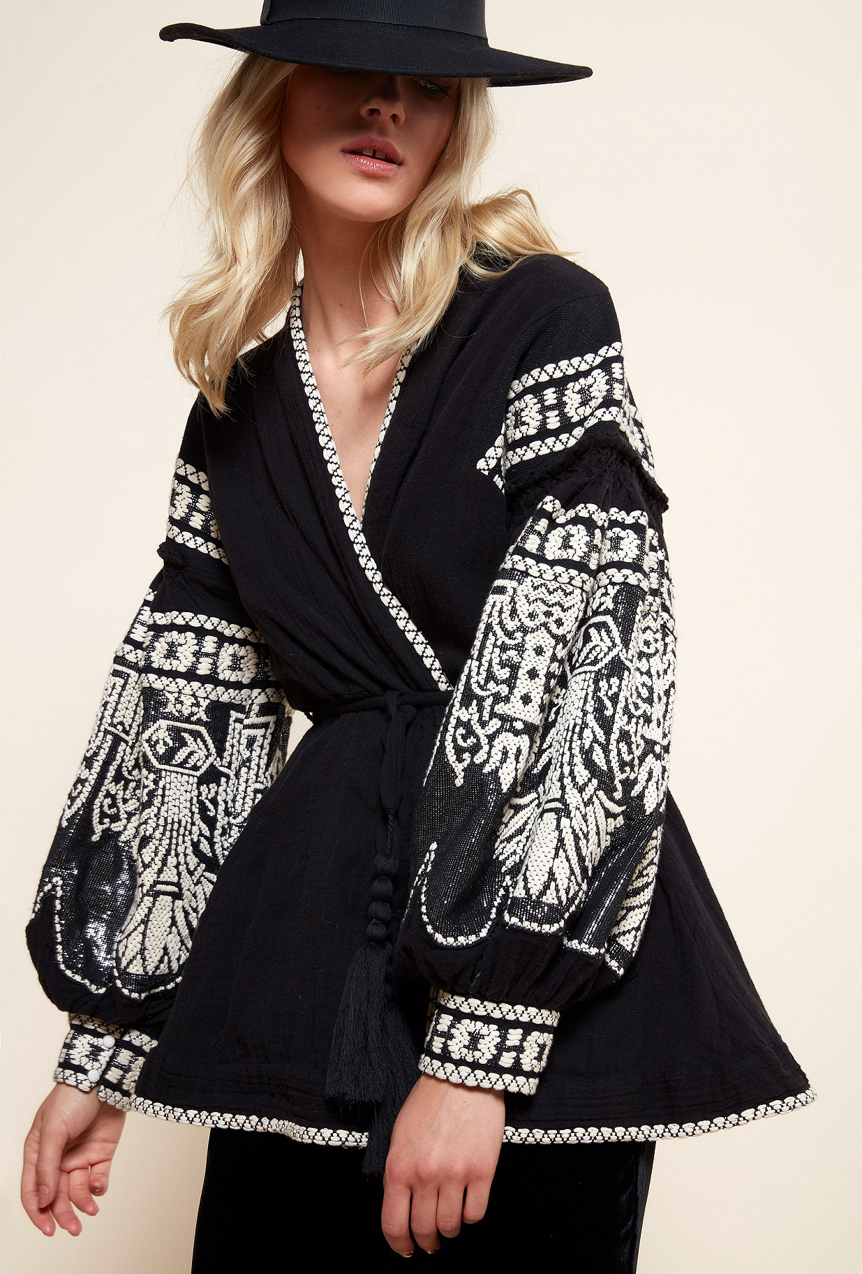 Black  JACKET  Petrushka Mes demoiselles fashion clothes designer Paris