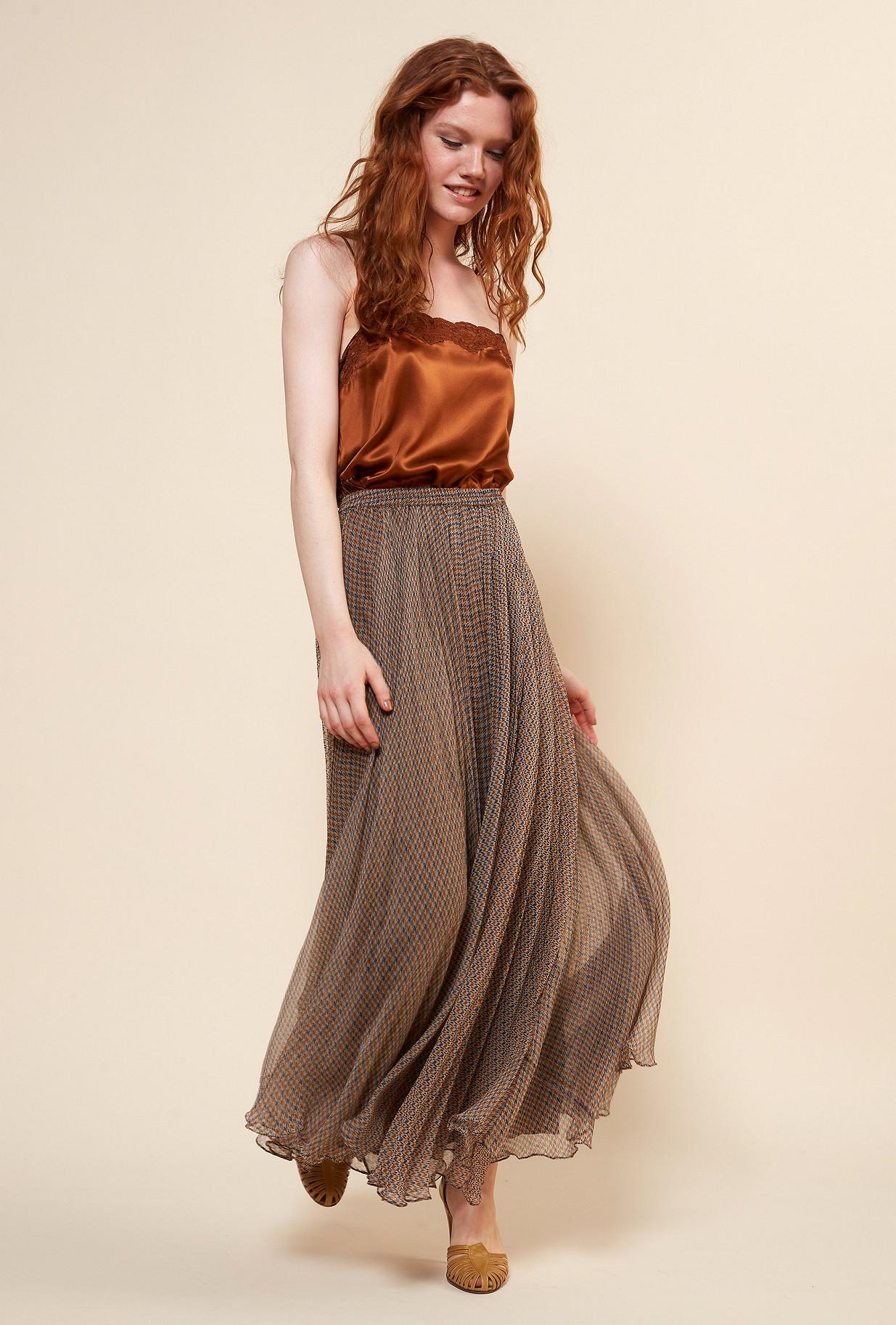 Natural  Skirt  Shirley Mes demoiselles fashion clothes designer Paris