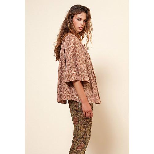 Powder  Blouse  Bacchante Mes demoiselles fashion clothes designer Paris