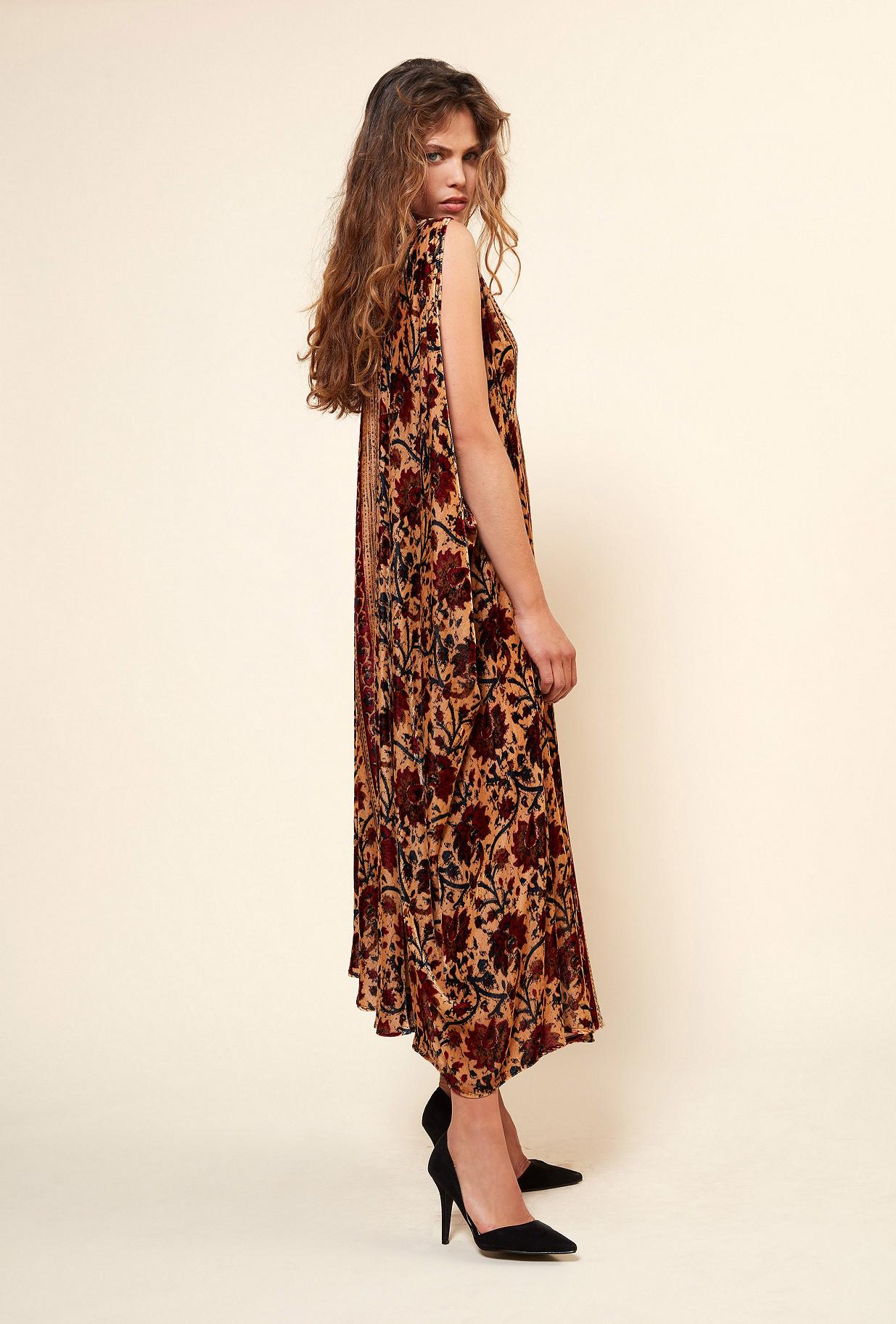 Robe Imprimé fleuri Chartreuse