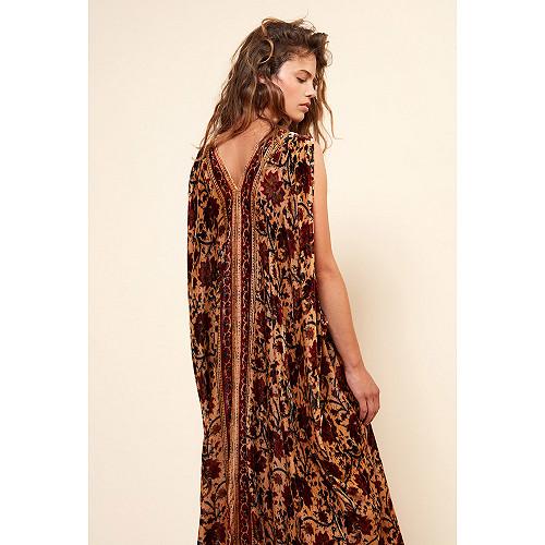 Robe Imprimé fleuri  Chartreuse mes demoiselles paris vêtement femme paris