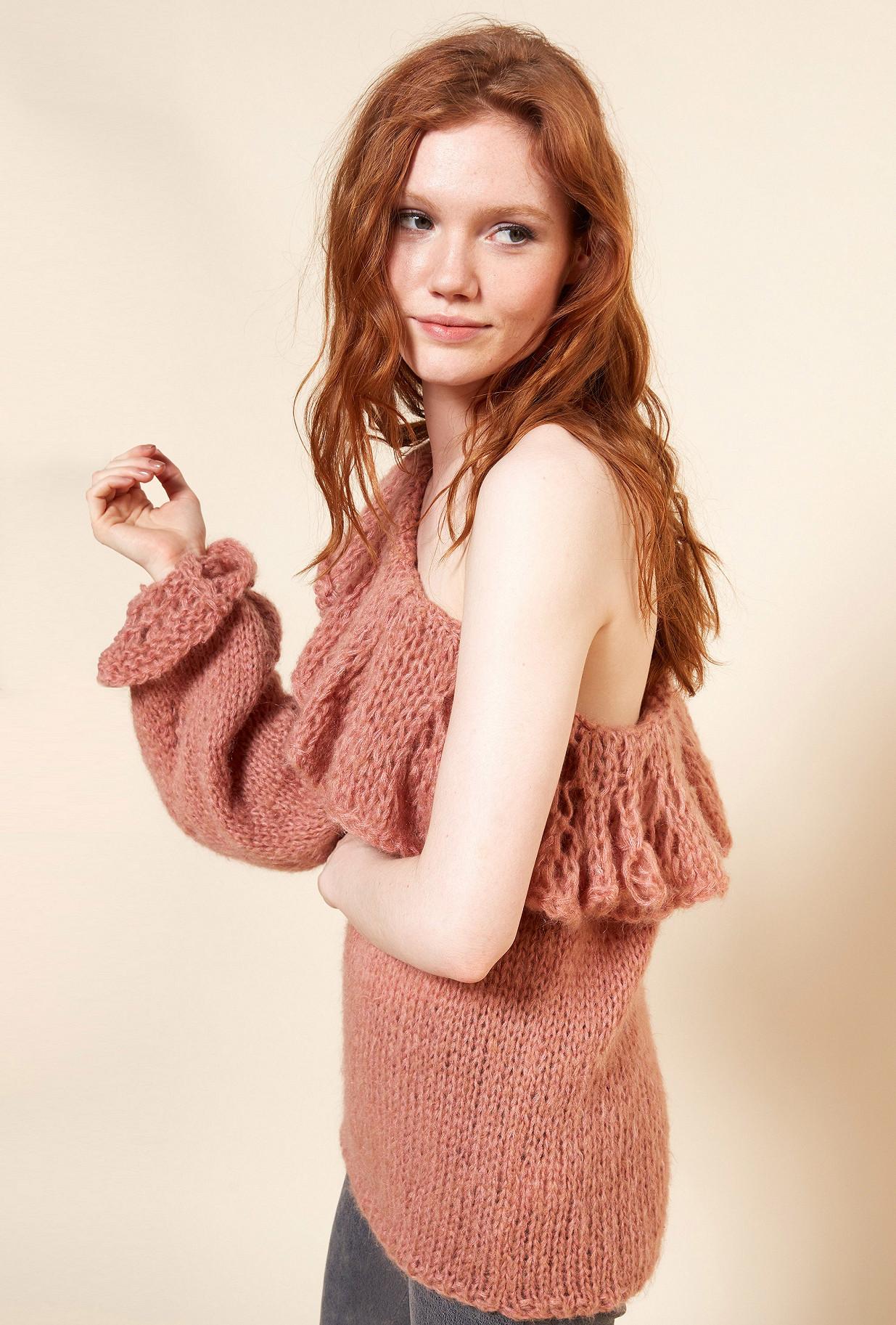 Nude  Knit  Frileuse Mes demoiselles fashion clothes designer Paris