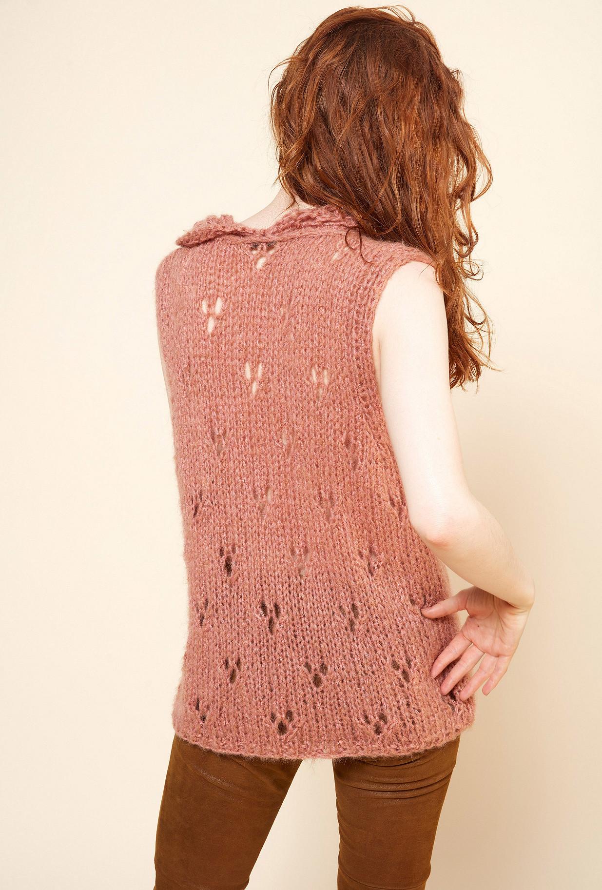 Nude  Knit  Frilou Mes demoiselles fashion clothes designer Paris