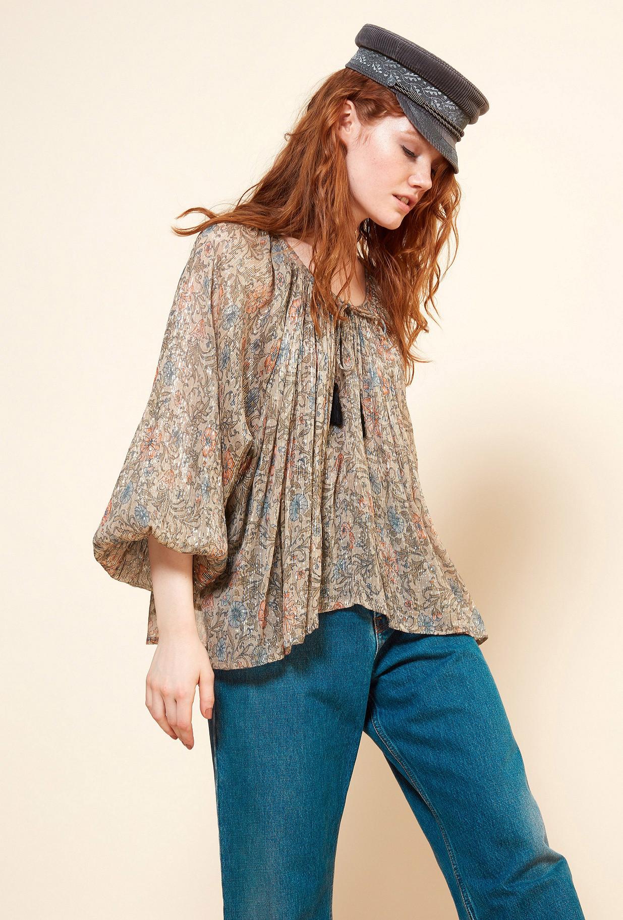 Paris boutique de mode vêtement Blouse créateur bohème  Ginger
