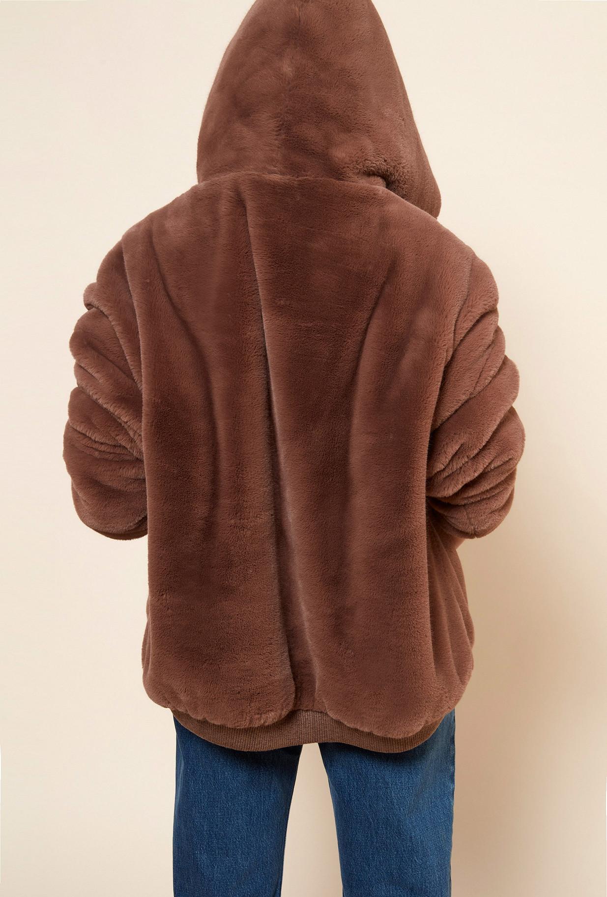 Brown COAT Godard Mes Demoiselles Paris