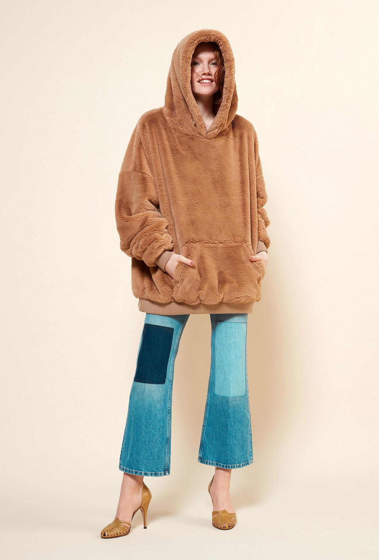 MANTEAU Camel  Godard mes demoiselles paris vêtement femme paris