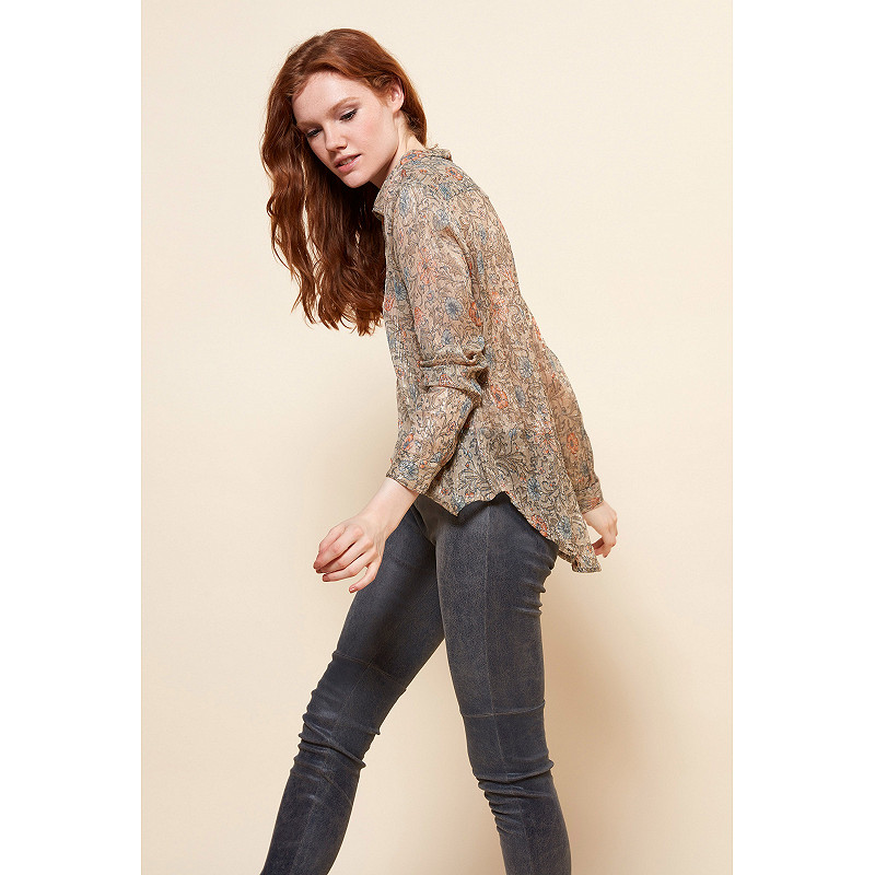 Paris boutique de mode vêtement CHEMISE créateur bohème  Gracie