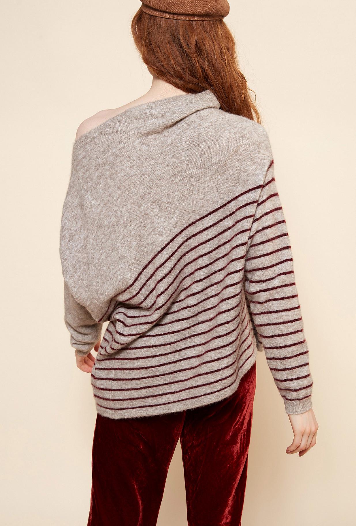 Beige  Knit  Kersauson Mes demoiselles fashion clothes designer Paris