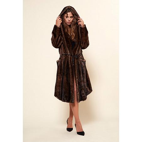 clothes store MANTEAU  Mahogany french designer fashion Paris