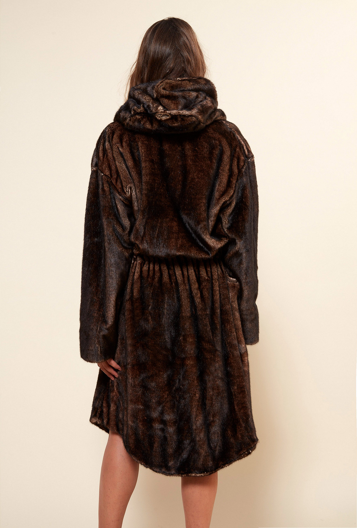 Brown COAT Mahogany Mes Demoiselles Paris