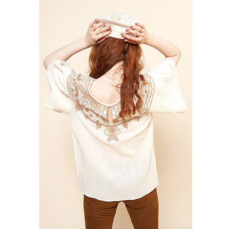 clothes store Blouse  Melodie french designer fashion Paris