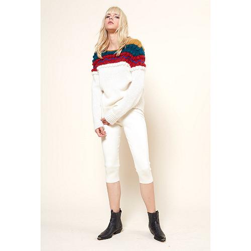 Ivory  PANT  Saxo Mes demoiselles fashion clothes designer Paris