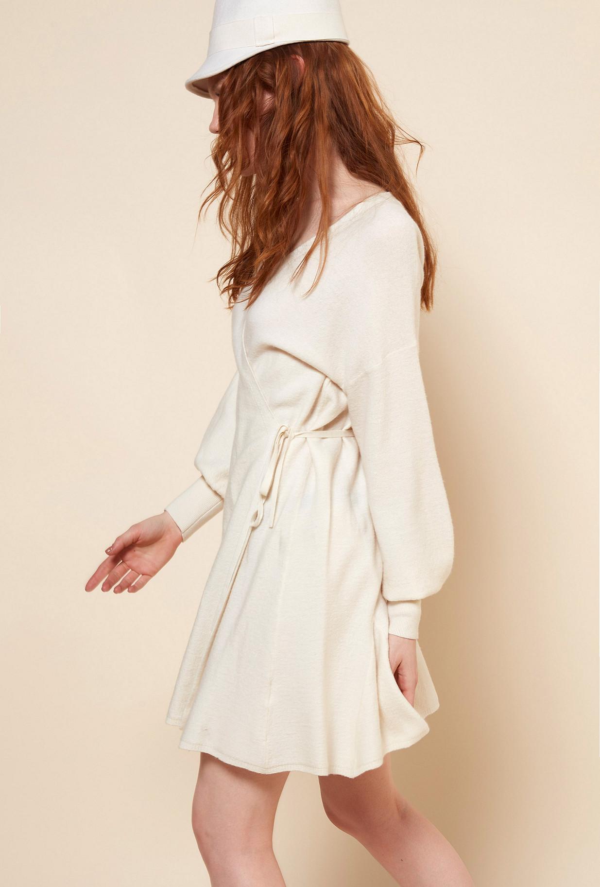 Ivory  Dress  Sevilla Mes demoiselles fashion clothes designer Paris