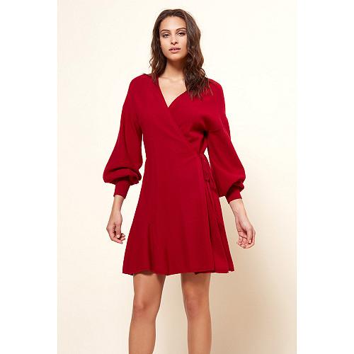 Dress Sevilla Mes Demoiselles color Red