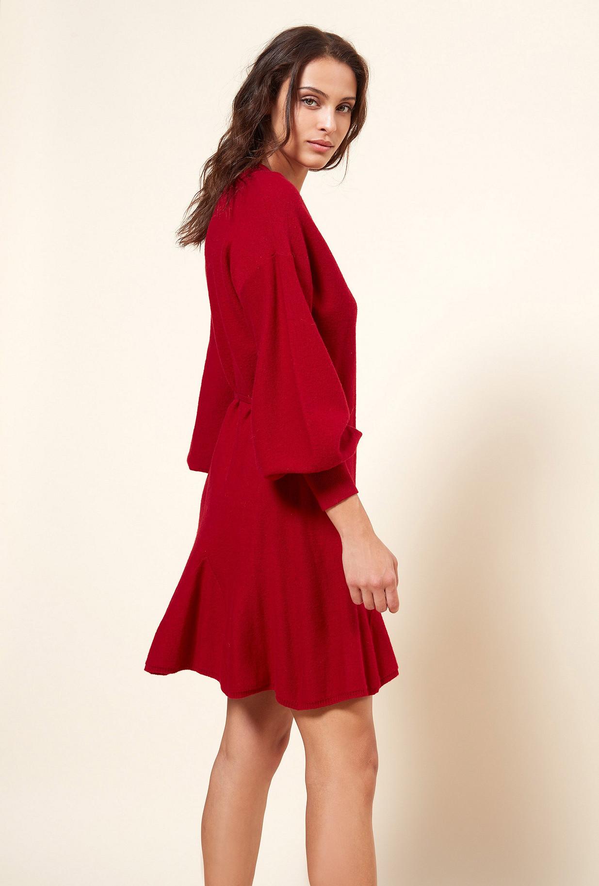 Red  Dress  Sevilla Mes demoiselles fashion clothes designer Paris