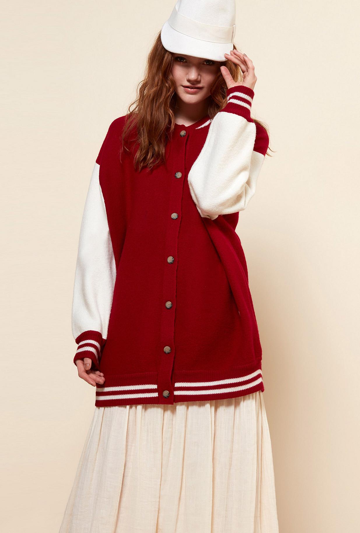 Red  COAT  Slater Mes demoiselles fashion clothes designer Paris