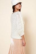 clothes store Sweater  Snow Flake french designer fashion Paris