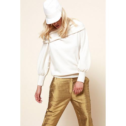 Ivory  Knit  Sonate Mes demoiselles fashion clothes designer Paris