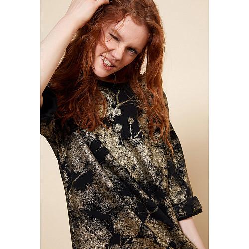 Black  Sweater  Steed Mes demoiselles fashion clothes designer Paris