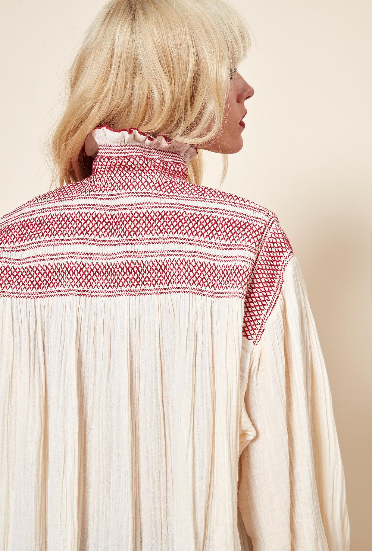 Ecru  Blouse  Tartuffe Mes demoiselles fashion clothes designer Paris