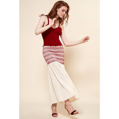 Skirt Toinette Mes Demoiselles color Ecru