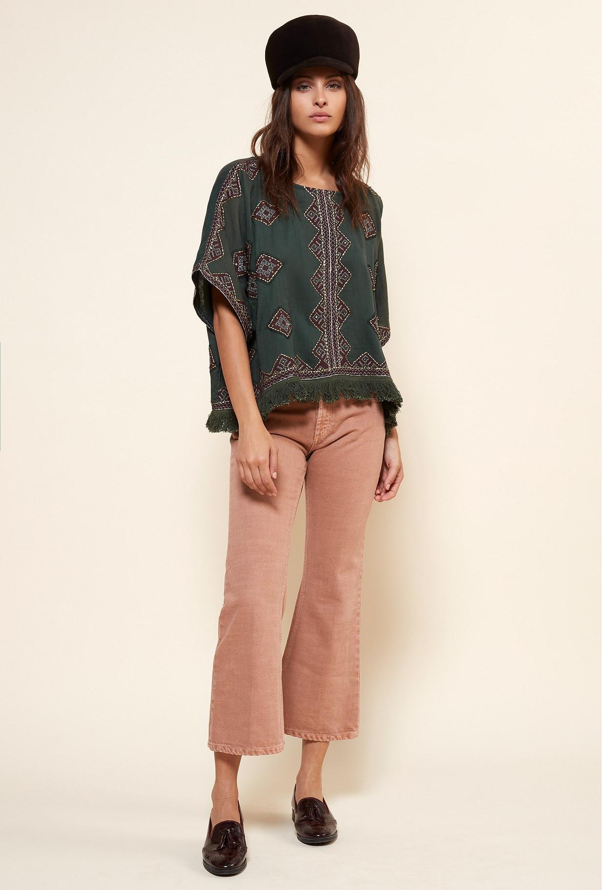 Paris clothes store PONCHO  Zakarie french designer fashion Paris