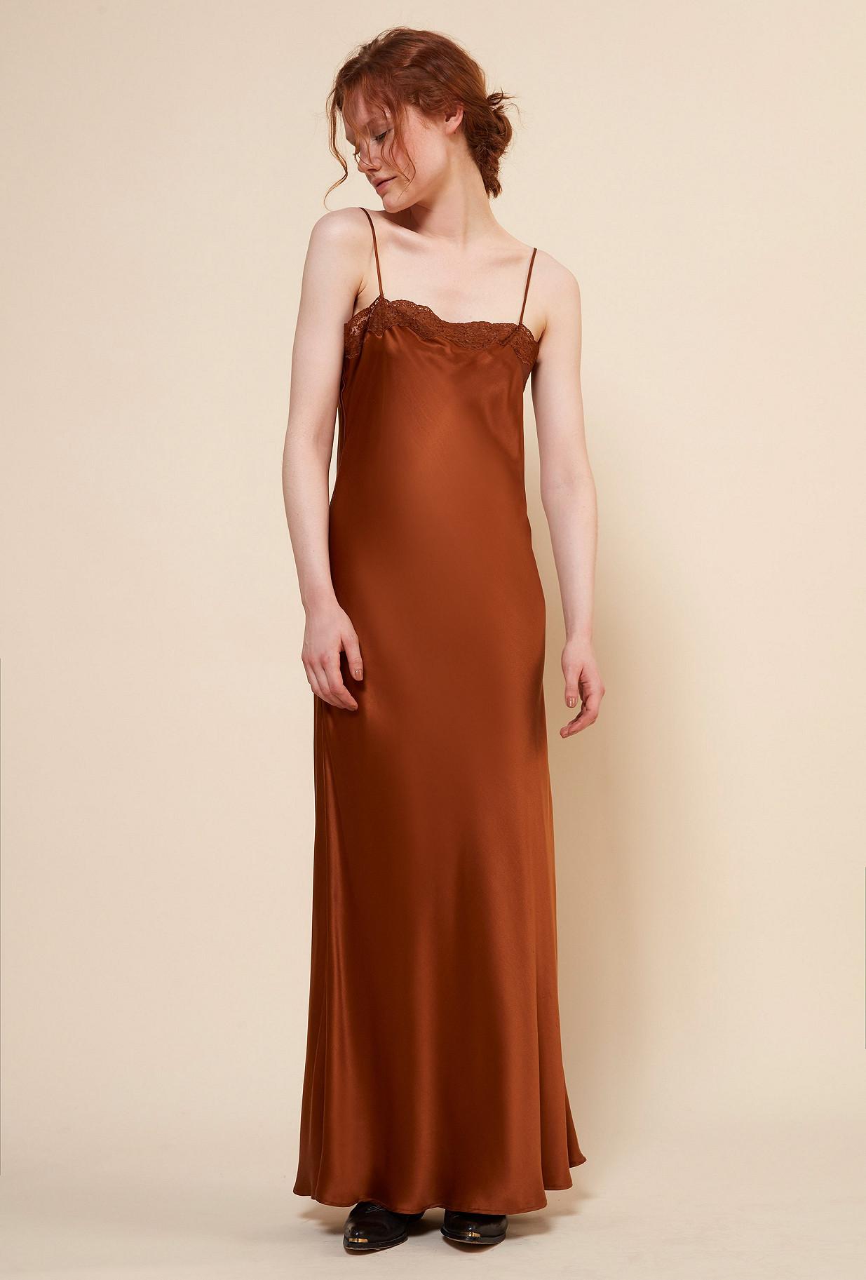 Orange Dress Alicante Mes Demoiselles Paris