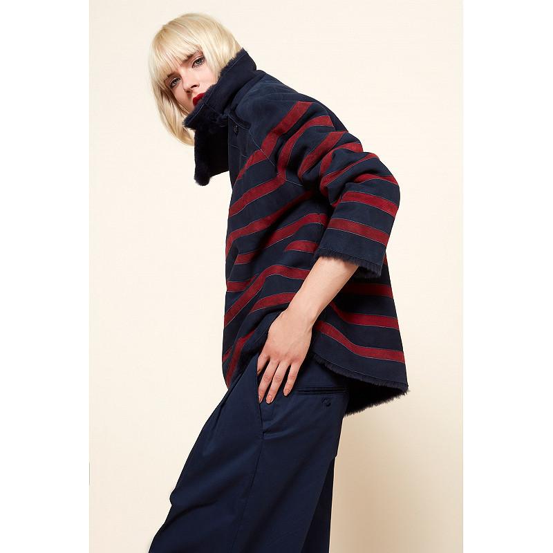 Paris boutique de mode vêtement MANTEAU créateur bohème  Arctique
